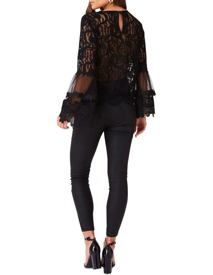 STRAIGHT CUT TOP IN ALL OVER EYELASH LACE image 2