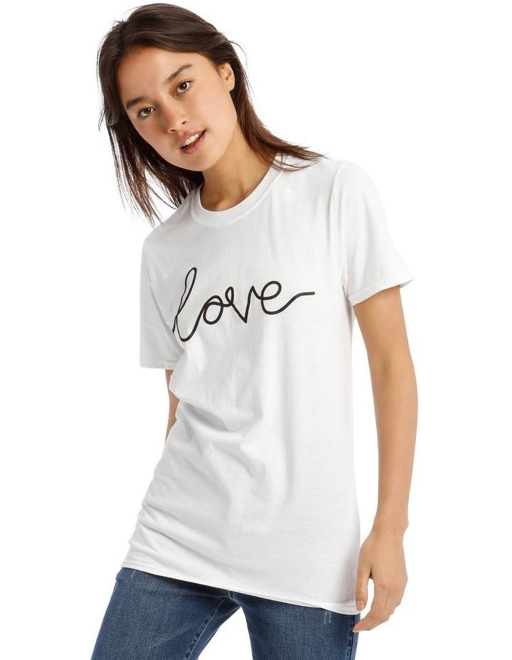 'Love' Signature Graphic T-Shirt image 1