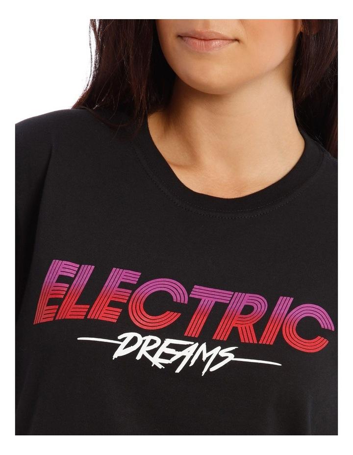 Electric Dreams Slogan T Shirt image 4