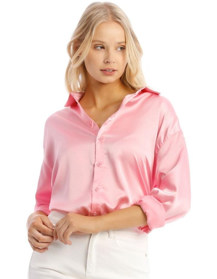 Basic Satin Shirt image 1