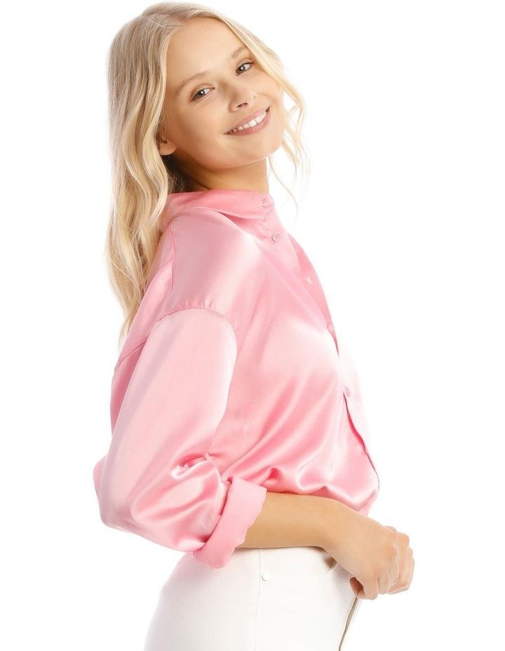 Basic Satin Shirt image 2