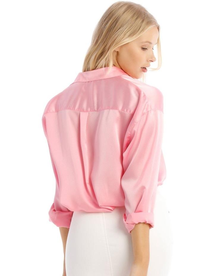 Basic Satin Shirt image 3