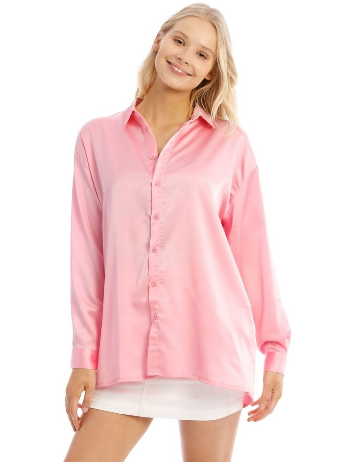 Basic Satin Shirt image 4