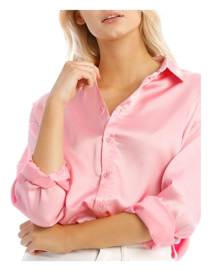 Basic Satin Shirt image 5