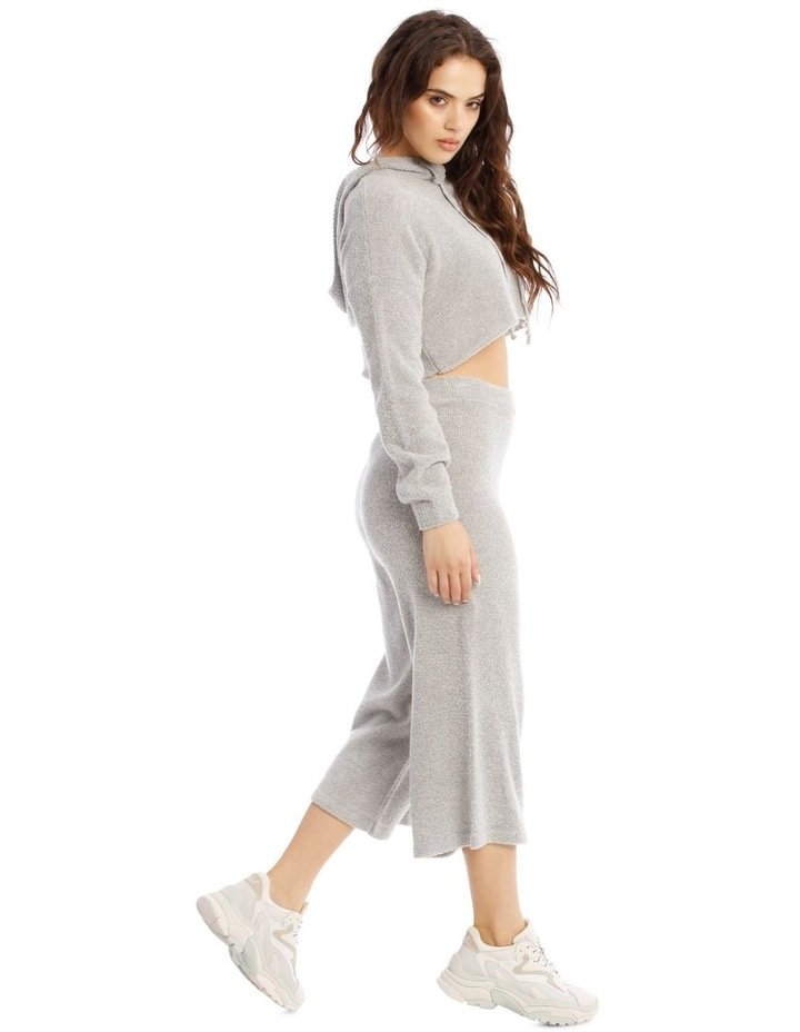 Boucle Cropped Hoodie Co-Ord image 2