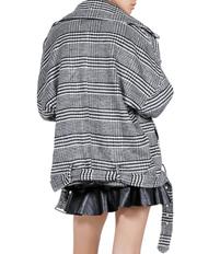 Glamorous - Houndstooth Longline Jacket