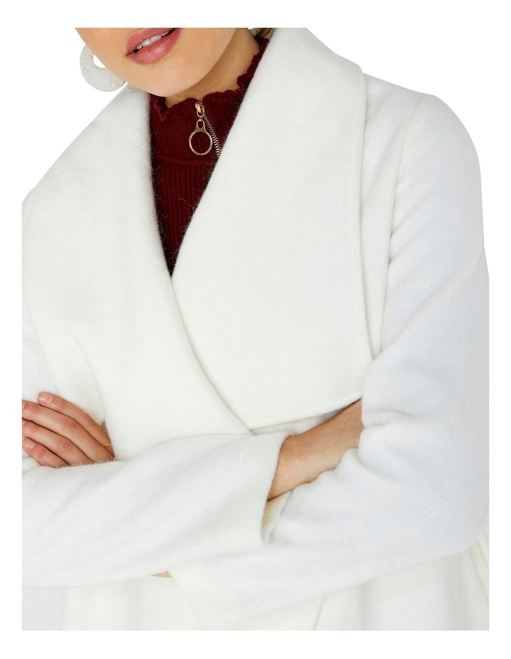 SOFT TOUCH WRAP OVER STYLE COAT image 4