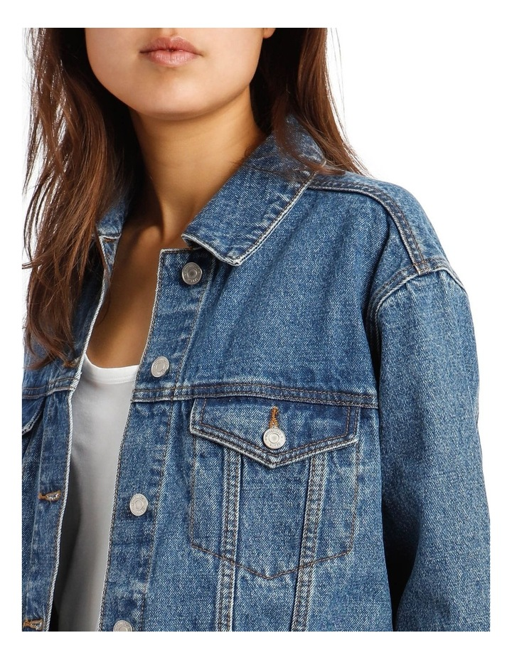 Oversized Denim Jacket image 4