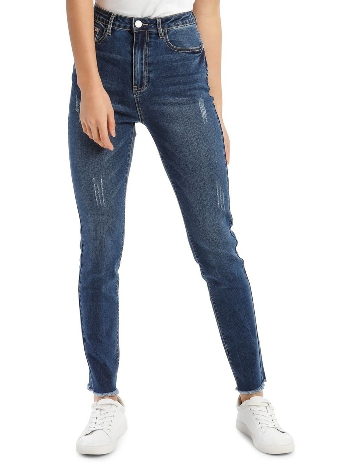 Sinner High-Waisted Clean Jeans image 1