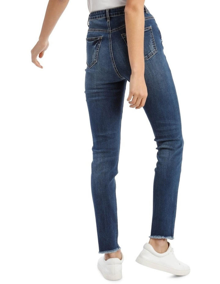 Sinner High-Waisted Clean Jeans image 3