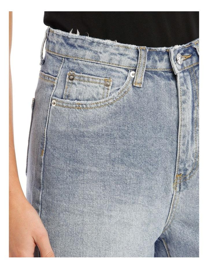 Blue Riot High Rise Clean Lightwash Mom Jeans image 4