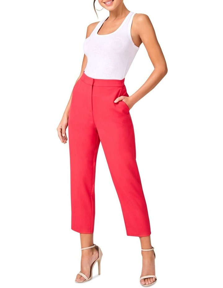 Hot Pink Tailored Pants image 1