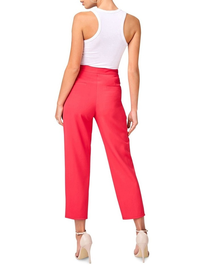 Hot Pink Tailored Pants image 2