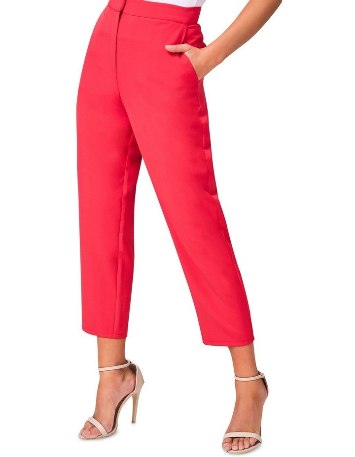 Hot Pink Tailored Pants image 3
