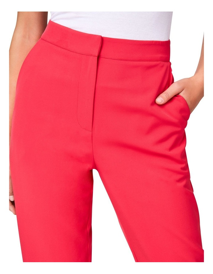 Hot Pink Tailored Pants image 4
