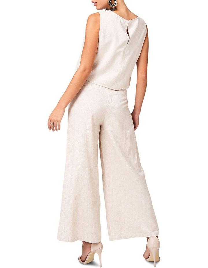 Lace Up Linen Pants image 2