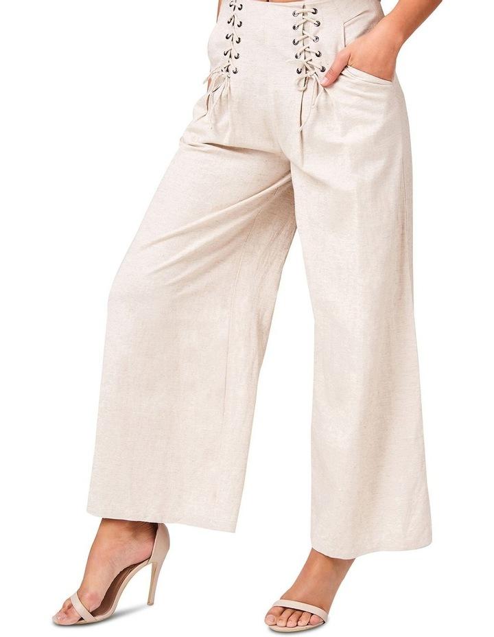 Lace Up Linen Pants image 3