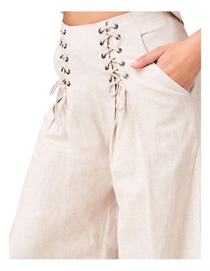 Lace Up Linen Pants image 4