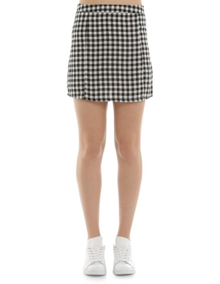 Gingham Mini Skirt image 1