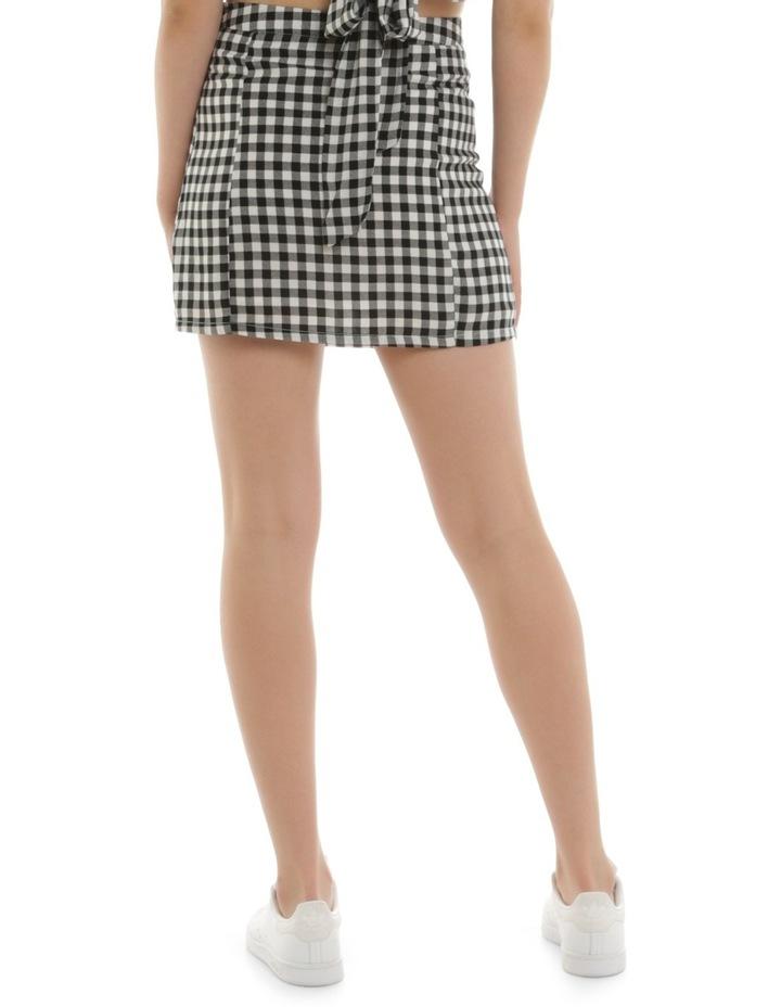 Gingham Mini Skirt image 2
