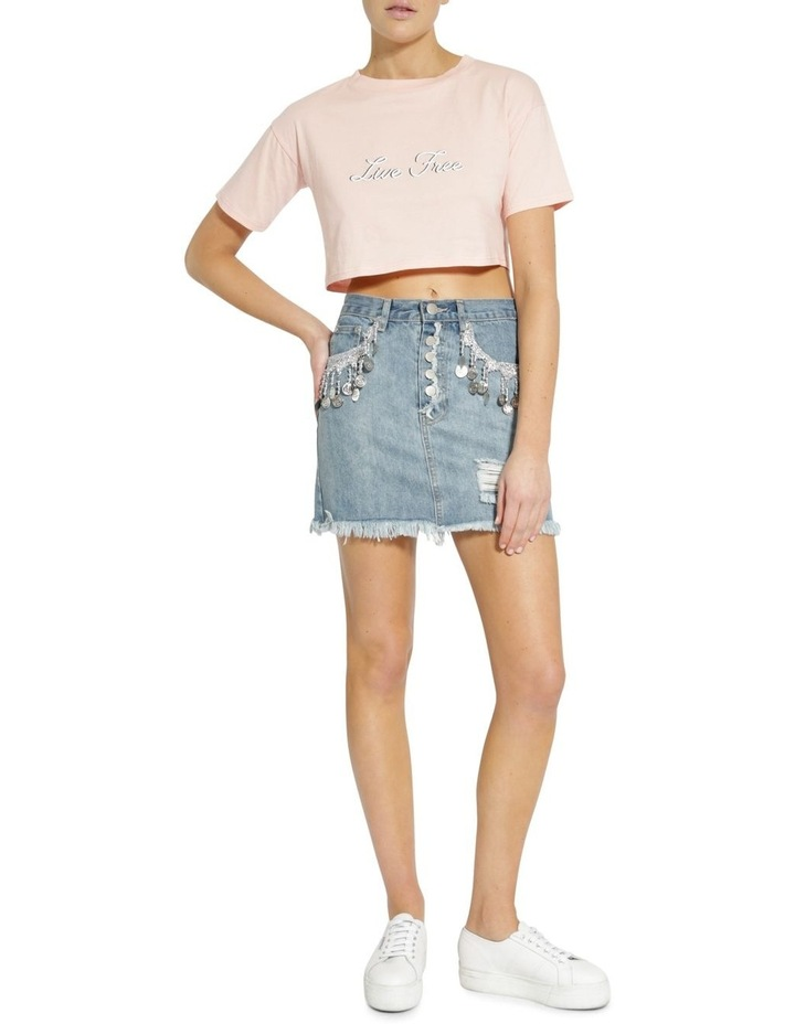 Anitque Wash Skirt image 1