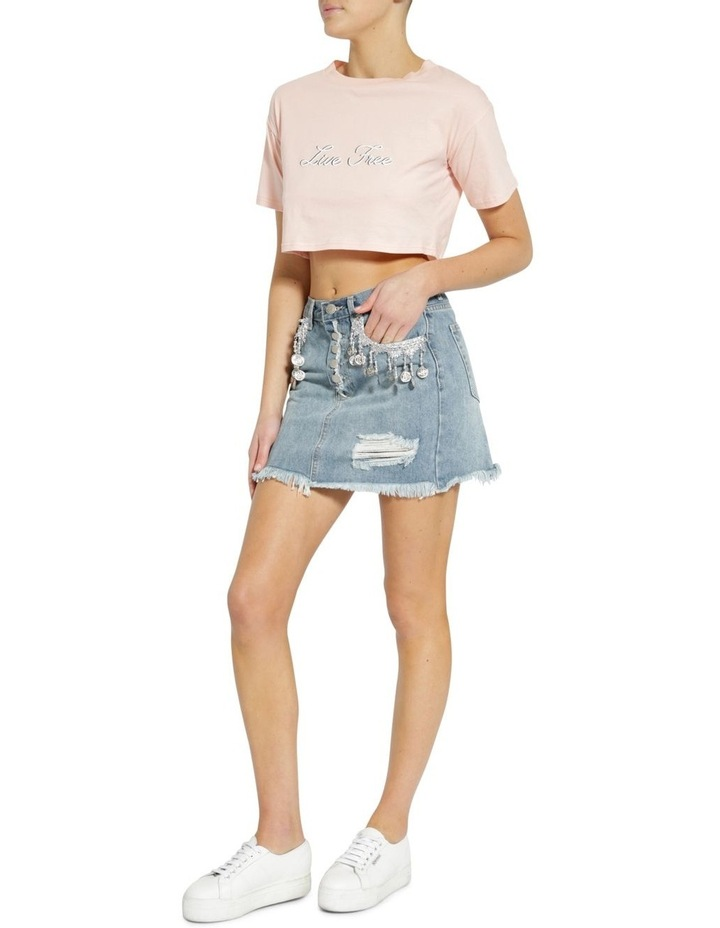 Anitque Wash Skirt image 2