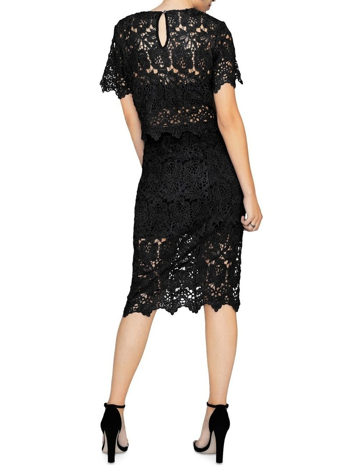 KNEE-LENGTH PENCIL SKIRT IN CROCHET LACE image 2
