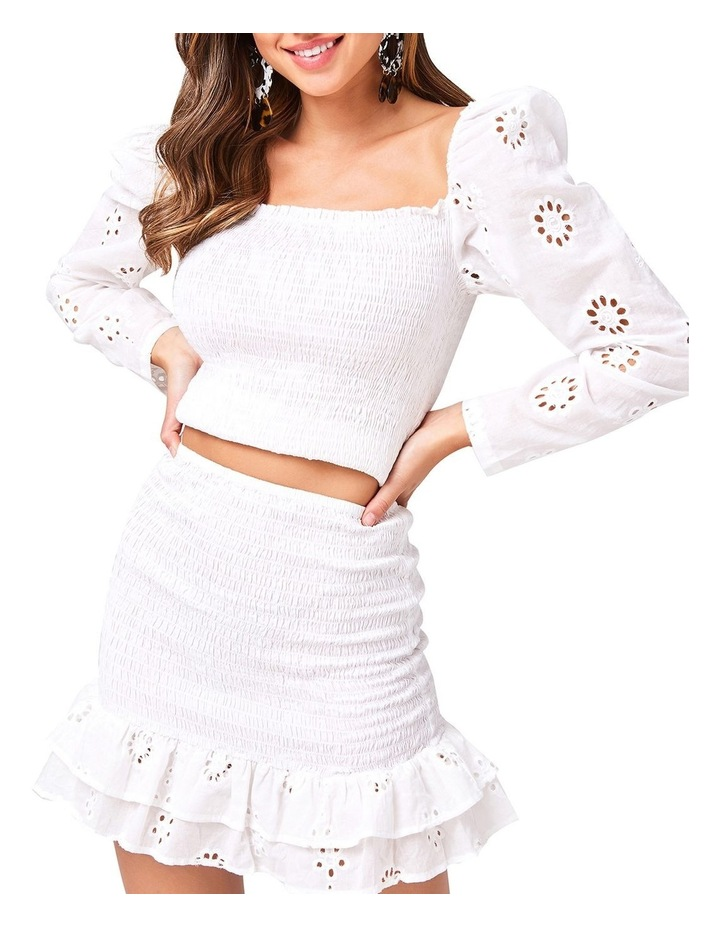 Ruched Frill Mini Skirt image 2