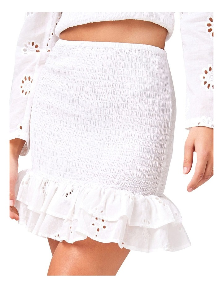 Ruched Frill Mini Skirt image 3
