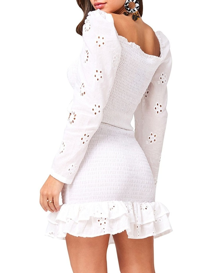 Ruched Frill Mini Skirt image 4