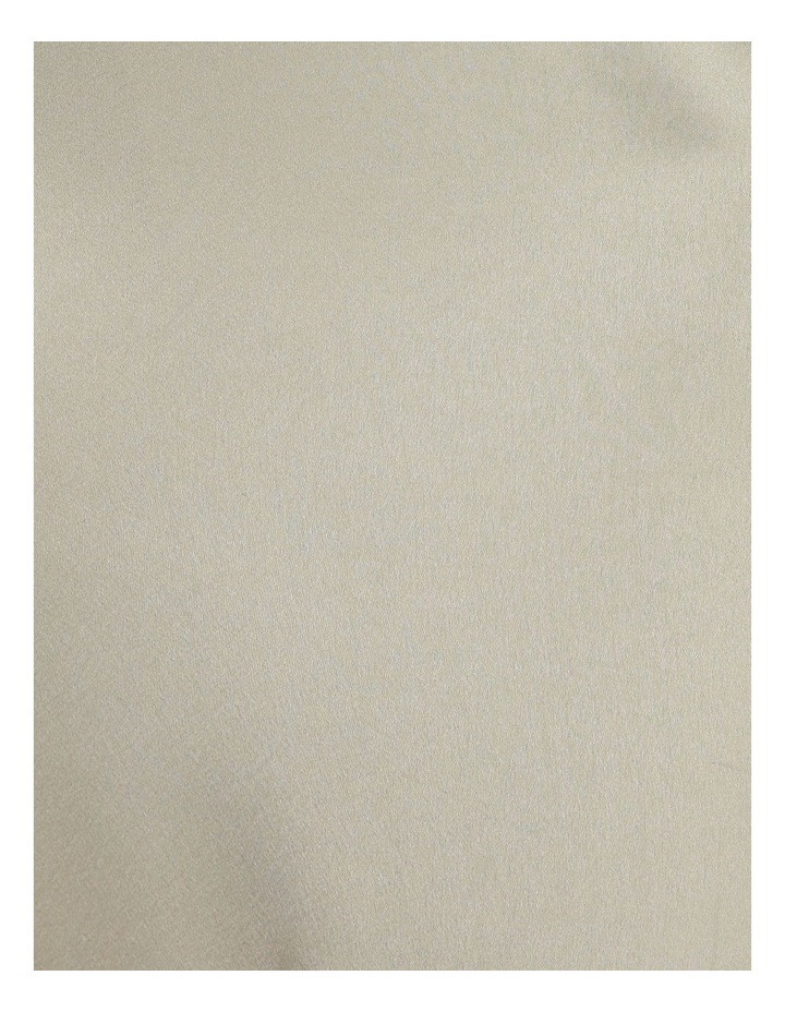 A Line Satin Slip Midi Skirt image 5