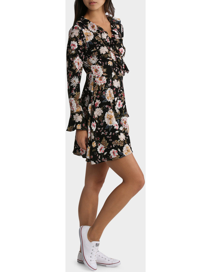 Long Sleeve Ruffle Dress image 2