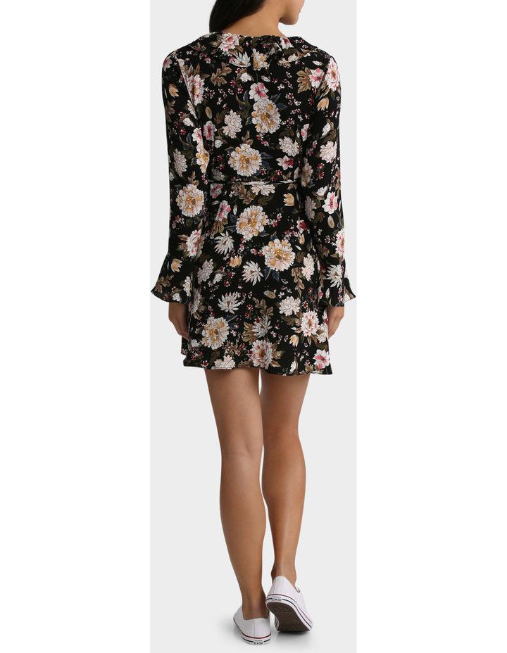 Long Sleeve Ruffle Dress image 3