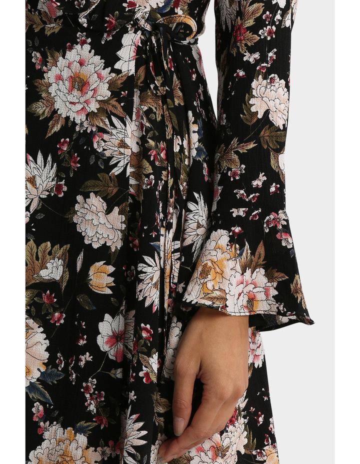 Long Sleeve Ruffle Dress image 4