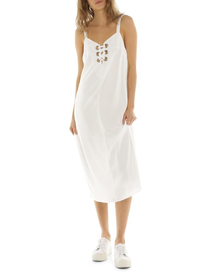 Eyelet Midi Dress image 1