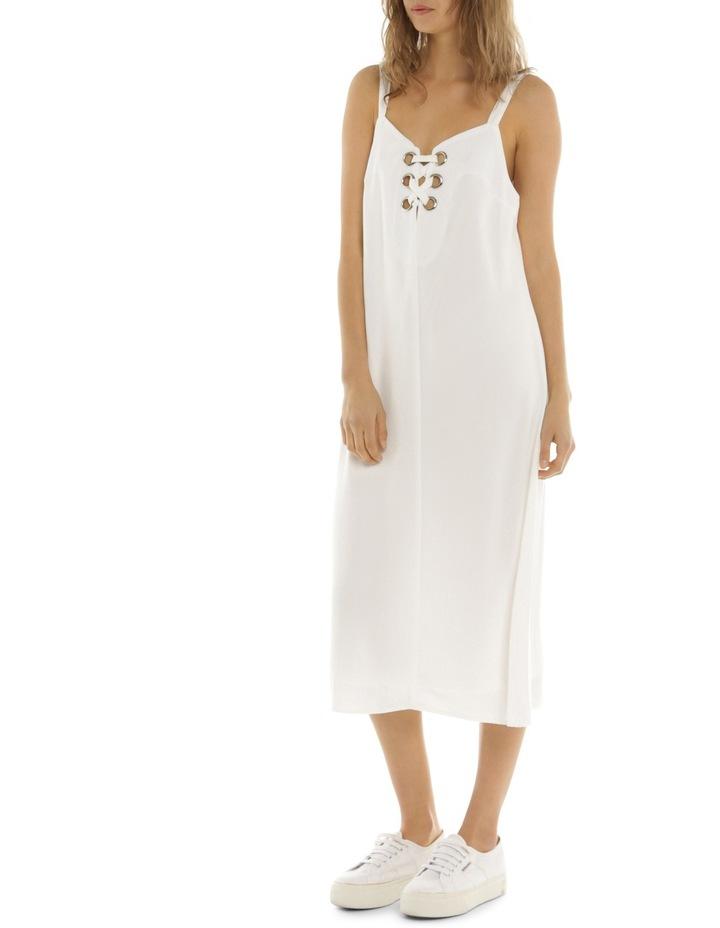 Eyelet Midi Dress image 3