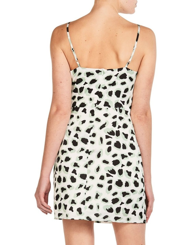 WHITE CORAL LEOPARD DRESS image 3