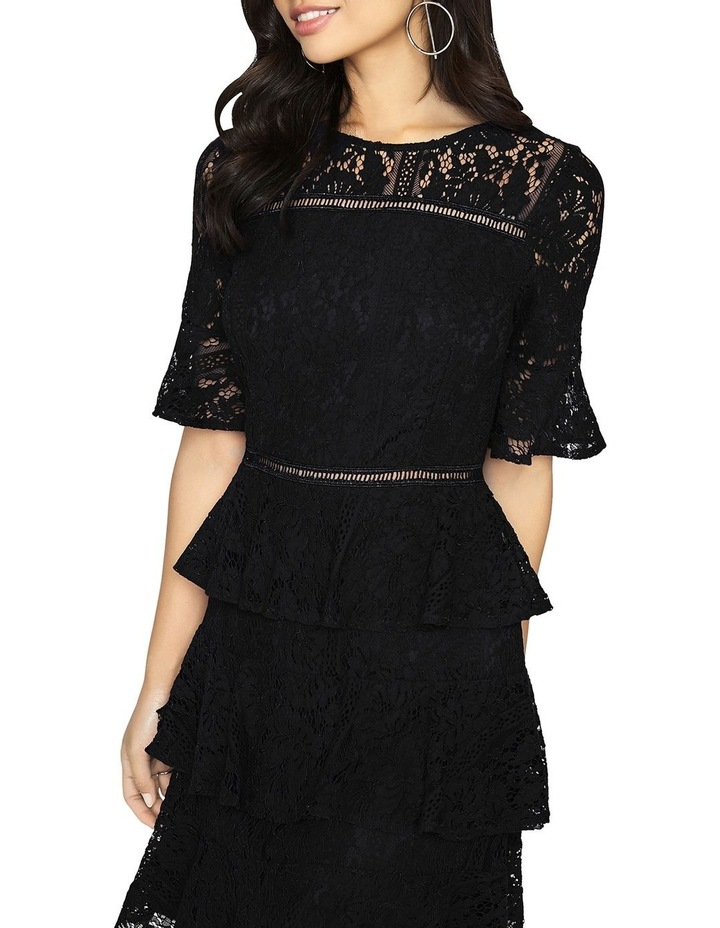 Lace Tiered Short Sleeve Dress image 4