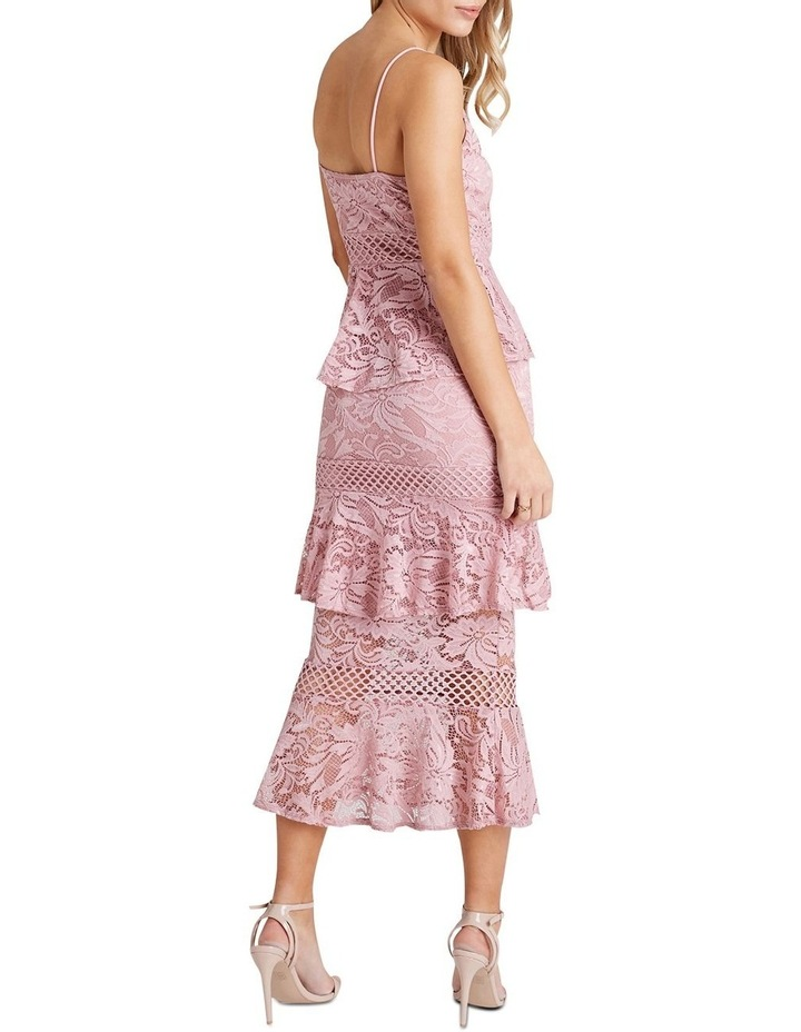 FITTED MIDI DRESS image 2
