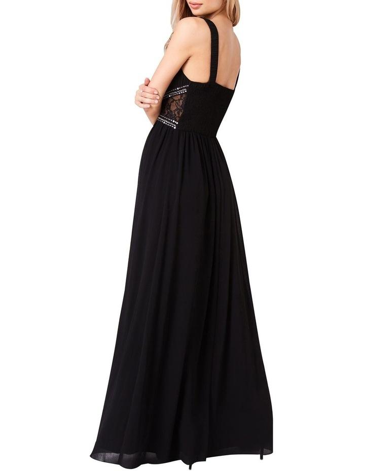 e0ddad110f85 EMBELLISHED KEYHOLE FRONT CHIFFON MAXI DRESS image 2