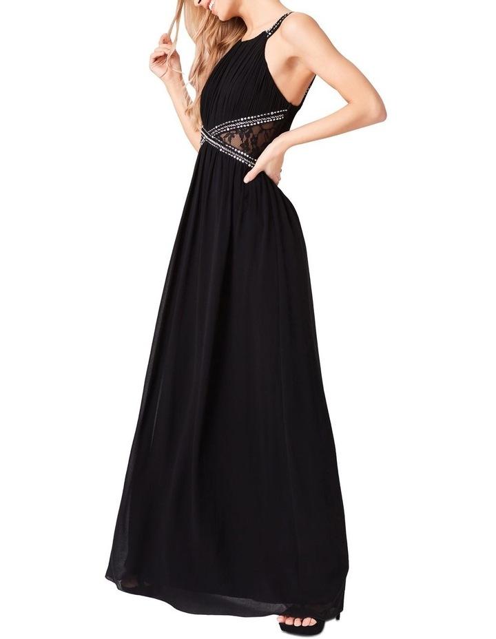 c48aae35cdba EMBELLISHED KEYHOLE FRONT CHIFFON MAXI DRESS image 5
