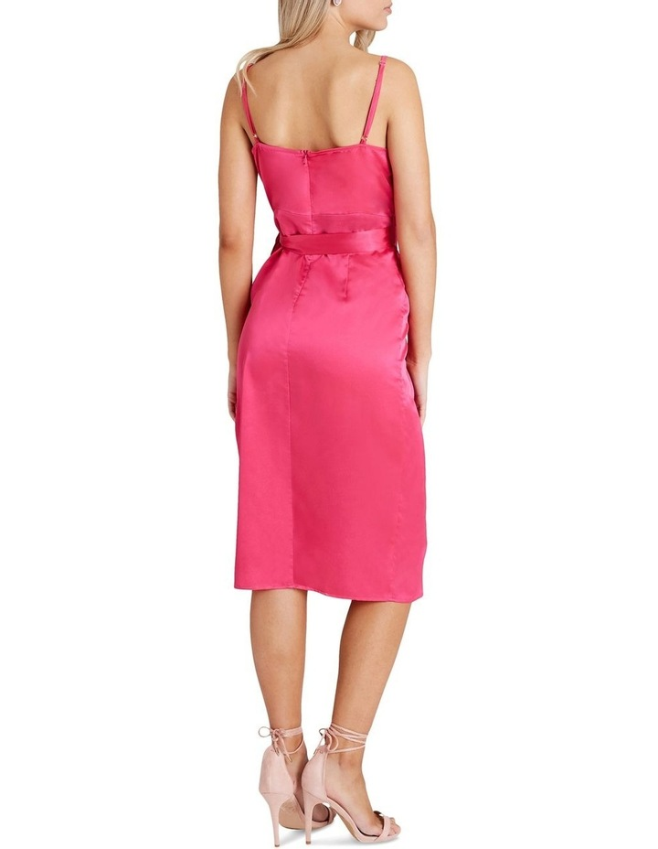 Calf-Length Slip Dress With Tie-Waist And Wrap Over Style Skirt image 2