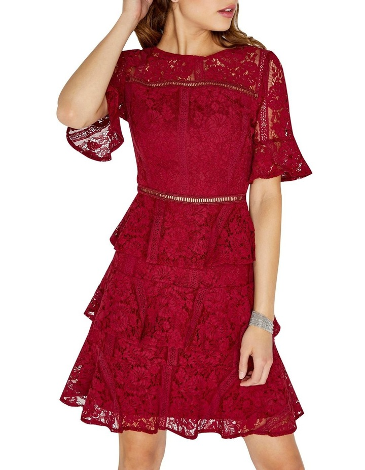 LACE TIERED DRESS image 1