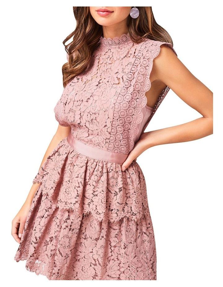 Lace Sleeveless Tiered Dress image 2