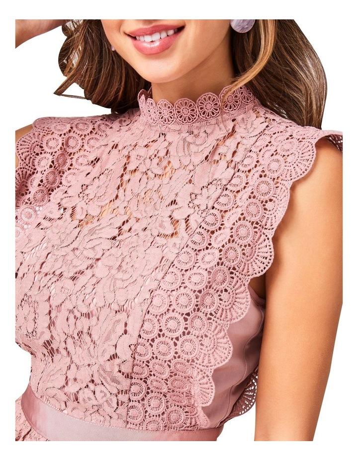 Lace Sleeveless Tiered Dress image 3