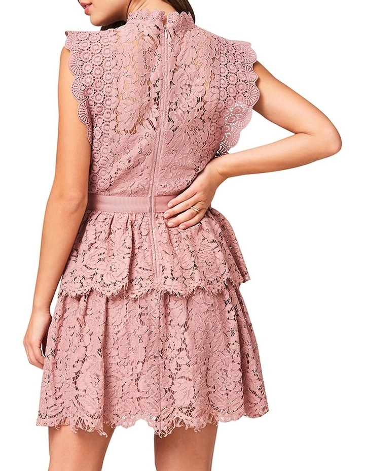 Lace Sleeveless Tiered Dress image 4