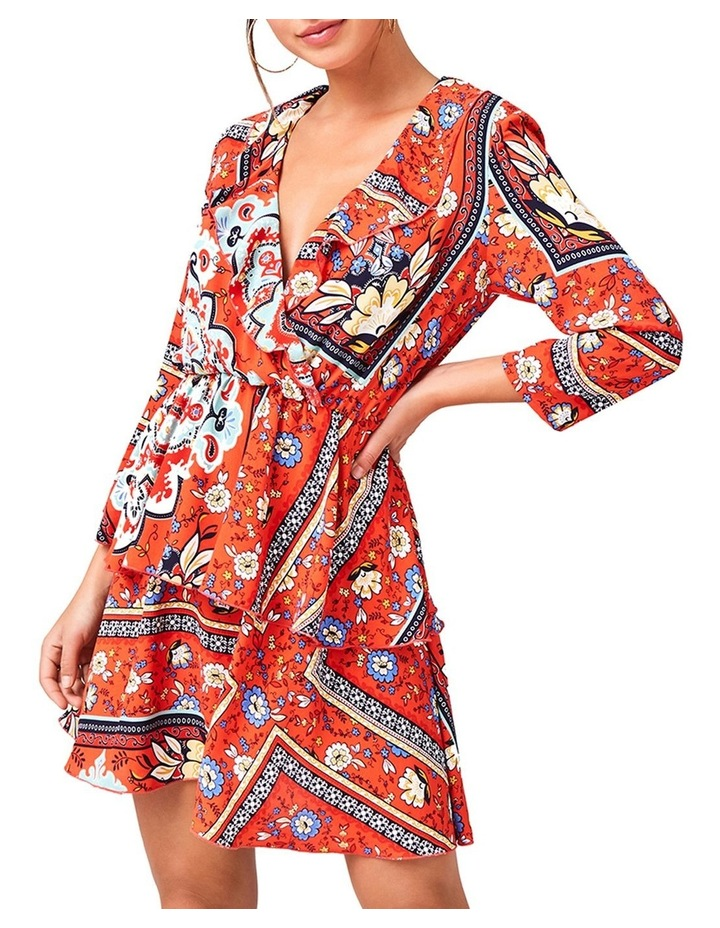 Mock Wrap Dress image 1