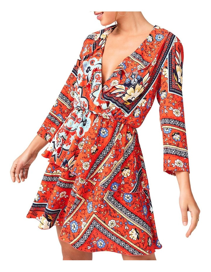 Mock Wrap Dress image 2