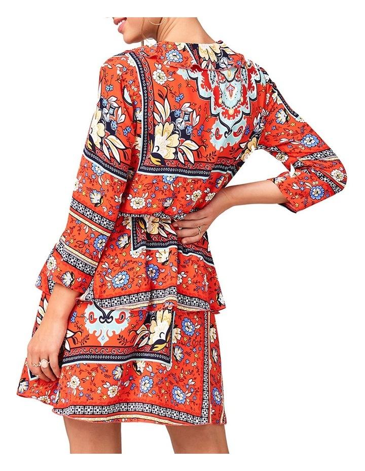 Mock Wrap Dress image 3
