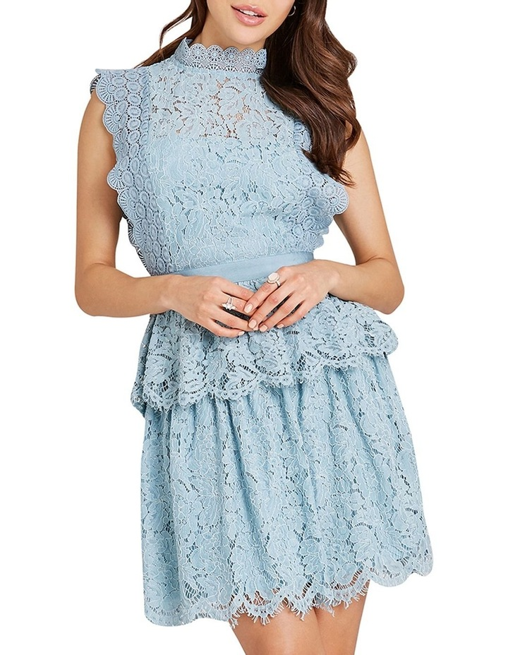 Lace Sleeveless Tiered Dress image 1